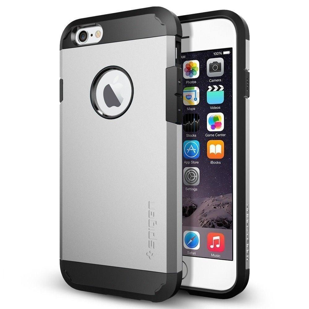 spigen apple iphone 6 6s tough armor case back cover. Black Bedroom Furniture Sets. Home Design Ideas