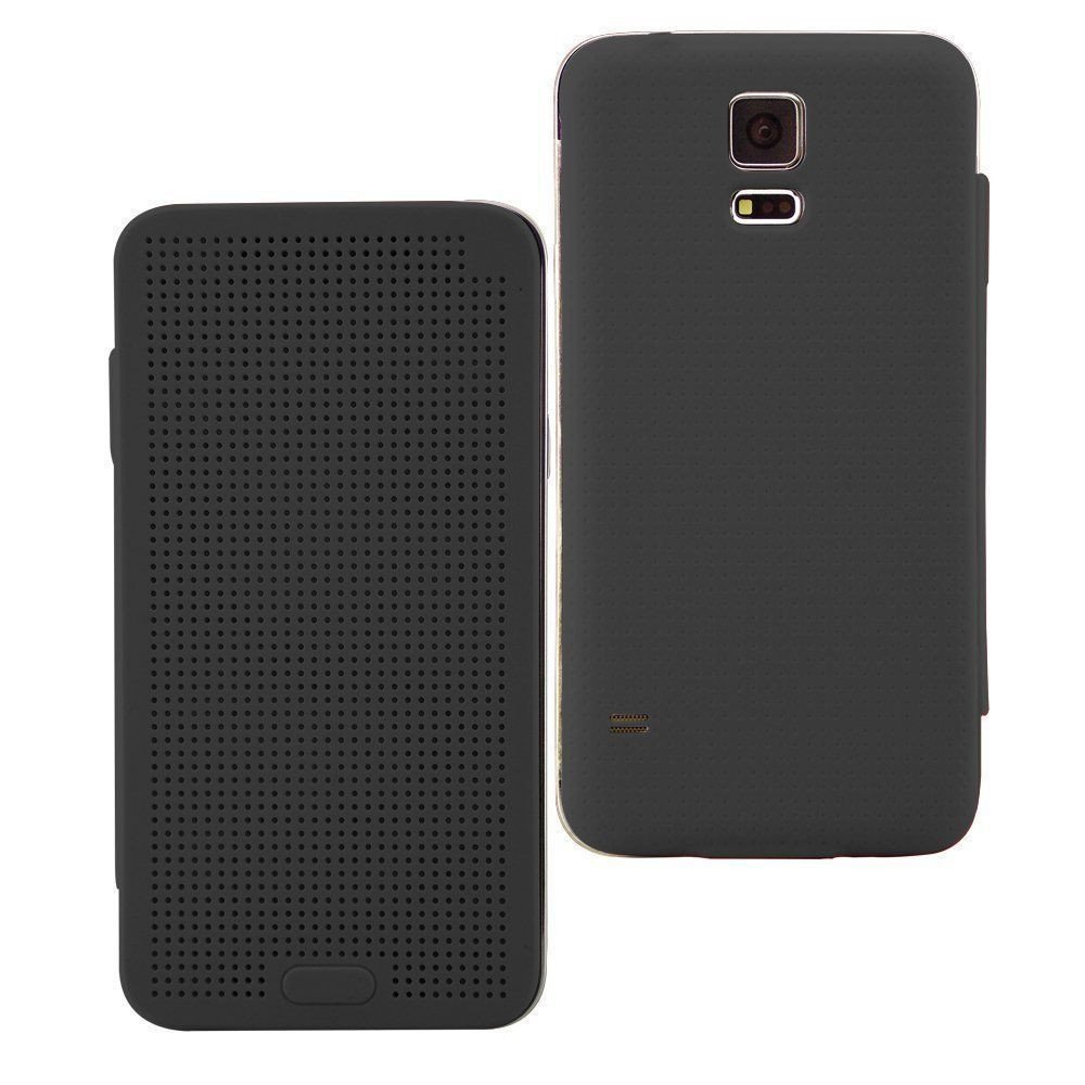newest collection 242b4 f72ae DotView ™ Samsung Galaxy S5 / G900 Dot View LED Case Flip Cover