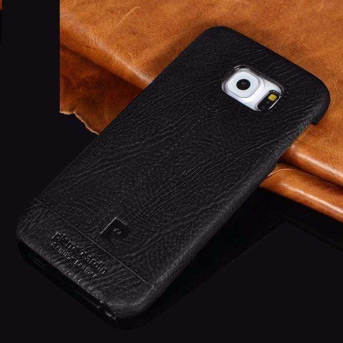 buy online 9dbc6 29759 Pierre Cardin ® Samsung Galaxy S6 / S6 Edge / S6 Edge Plus Paris Design  Premium Leather Case Back Cover