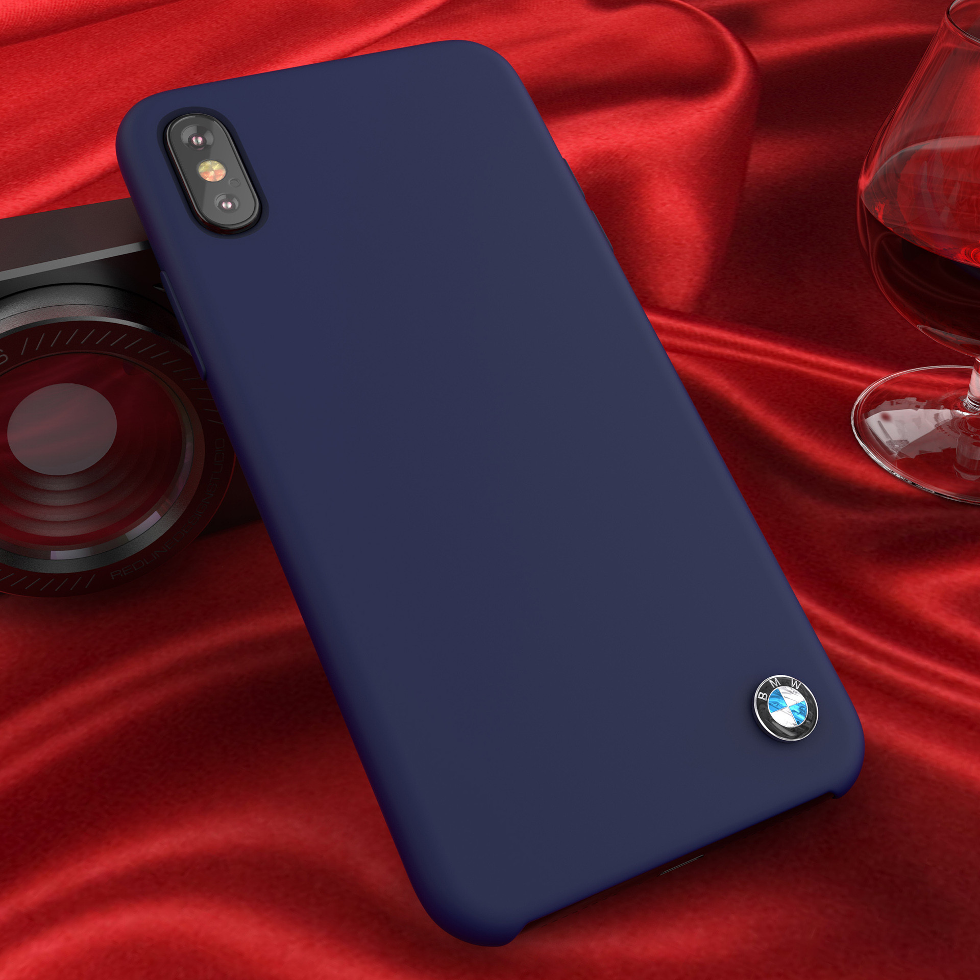 san francisco ee85a c4139 BMW ® Apple iPhone X Liquid Silicon Luxurious Case Limited Edition Back  Cover