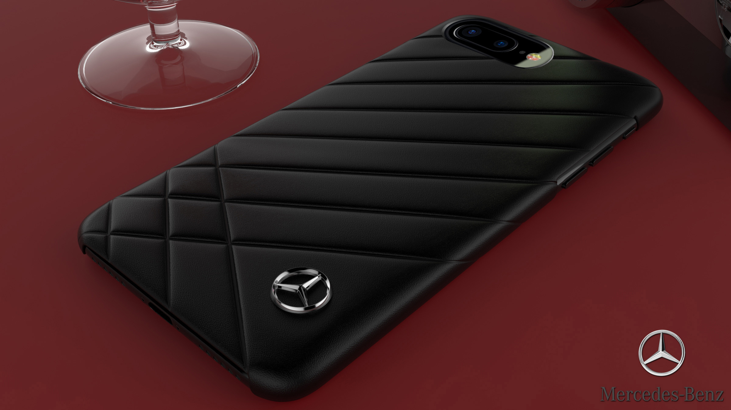 purchase cheap ec263 9ffdc Mercedes Benz ® Apple iPhone 8 Plus Luxury Motion Series British Edition  Case Back Cover