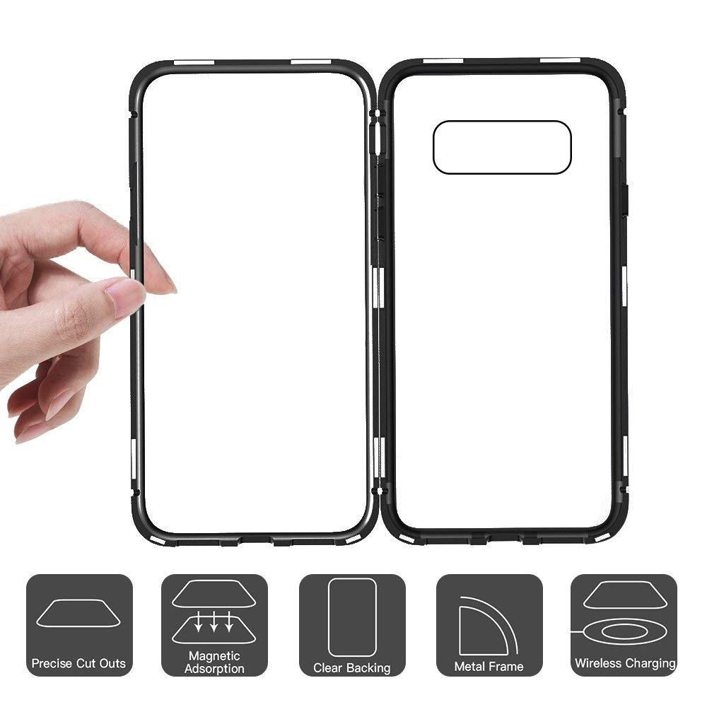 best loved 5dcd6 7c7e8 Vaku ® Samsung Galaxy Note 8 Electronic Auto-Fit Magnetic Wireless Edition  Aluminium Ultra-Thin CLUB Series Back Cover