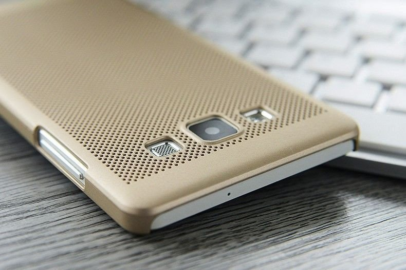 timeless design 39336 8e23d ioop ® Samsung Galaxy A7 (2015) Perforated Series Heat Dissipation Hollow  PC Back Cover