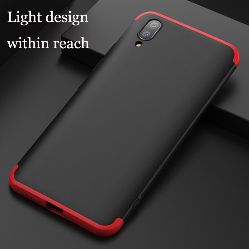 best cheap dcd40 2cb57 FCK ® Vivo X21 5-in-1 360 Series PC Case Dual-Colour Finish Ultra-thin Slim  Front Case + Back Cover