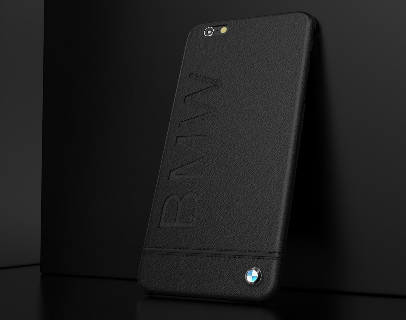 promo code 3b856 4cbe0 BMW ® Apple iPhone 8 Plus Official Racing Leather Case Limited Edition Back  Cover