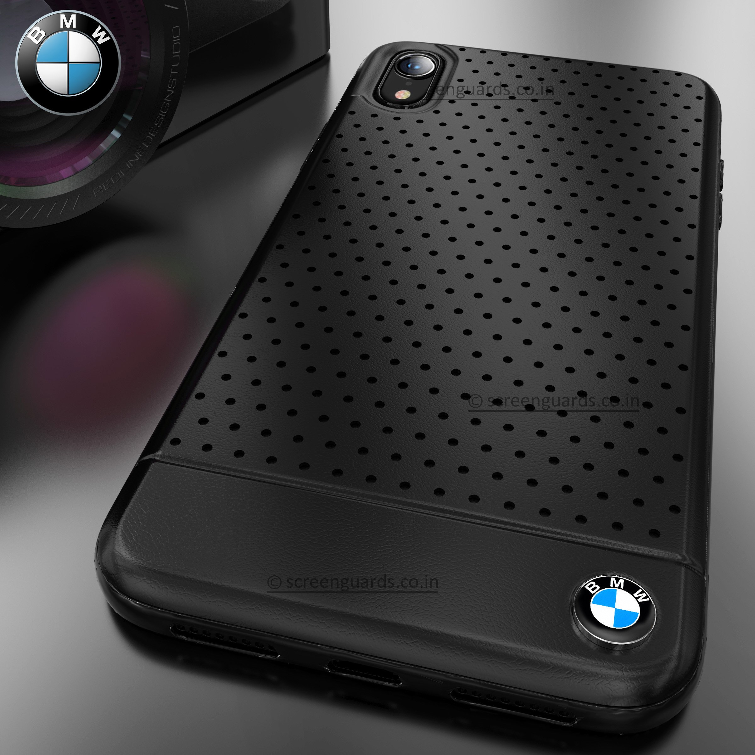 Bmw 174 Iphone Xr Dotted M4 Coupe Leather Edition Black