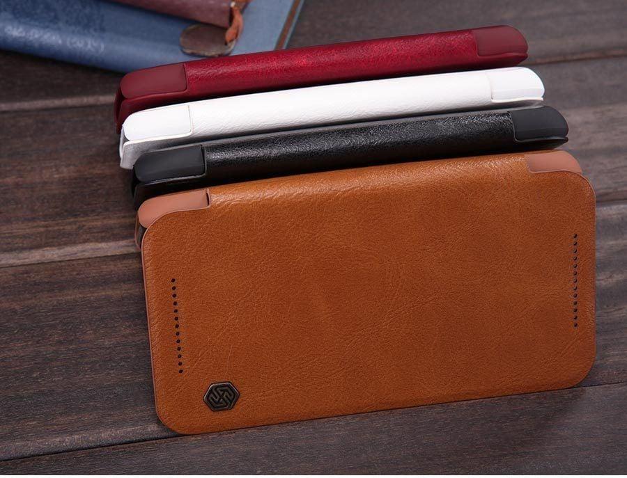 buy popular e7712 2ff19 Nillkin ® Motorola G3 Nitq Folio Leather Protective Case with Credit Card  Slot Flip Cover