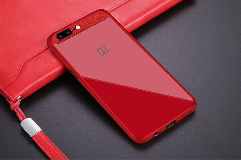 best authentic ce37a 92e34 Vaku ® OnePlus 5 Kowloon Series Top Quality Soft Silicone 4 Frames +  Ultra-Thin Transparent Back Cover