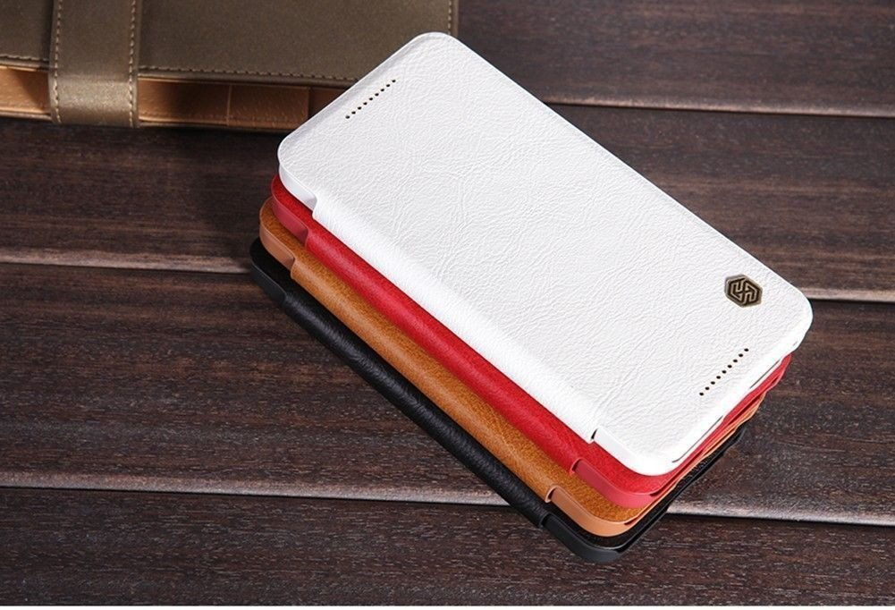 low priced 54fcb a0f02 Nillkin ® LG Google Nexus 5X Nitq Folio Leather Protective Case with Credit  Card Slot Flip Cover