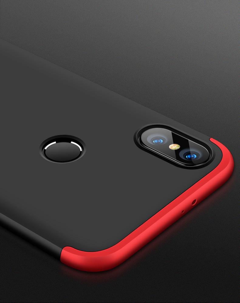watch 83c56 9f322 FCK ® Xiaomi Redmi Note 5 Pro 5-in-1 360 Series PC Case Dual-Colour Finish  Ultra-thin Slim Front Case + Back Cover