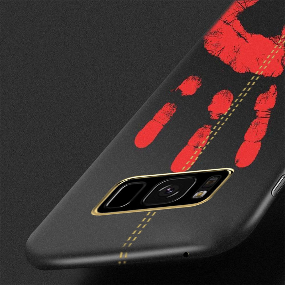 Vaku ® Samsung Galaxy S8 Lexza Volcano Fire Series Hot-Color Changing  Infinite Thermal Sensing Technology Back Cover