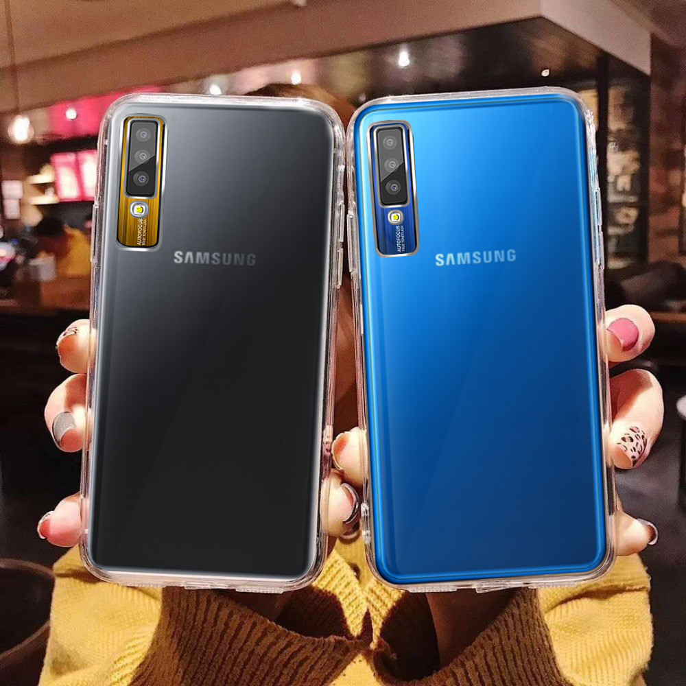 big sale 12378 688db Vaku ® Samsung Galaxy A7 (2018) Metal Camera Ultra-Clear Transparent View  with Anodized Aluminium Finish Back Cover