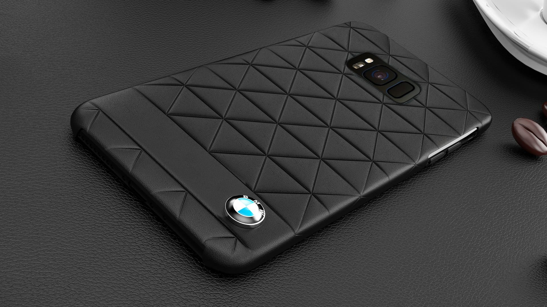 info for 6f8f9 ebc17 BMW ® Samsung S8 PLUS Official Superstar zDRIVE Leather Case Limited  Edition Back Cover