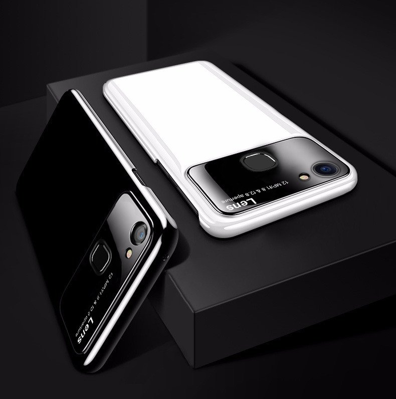 reputable site f1beb 56742 Vaku ® Vivo Y83 Polarized Glass Glossy Edition PC 4 Frames + Ultra-Thin  Case Back Cover