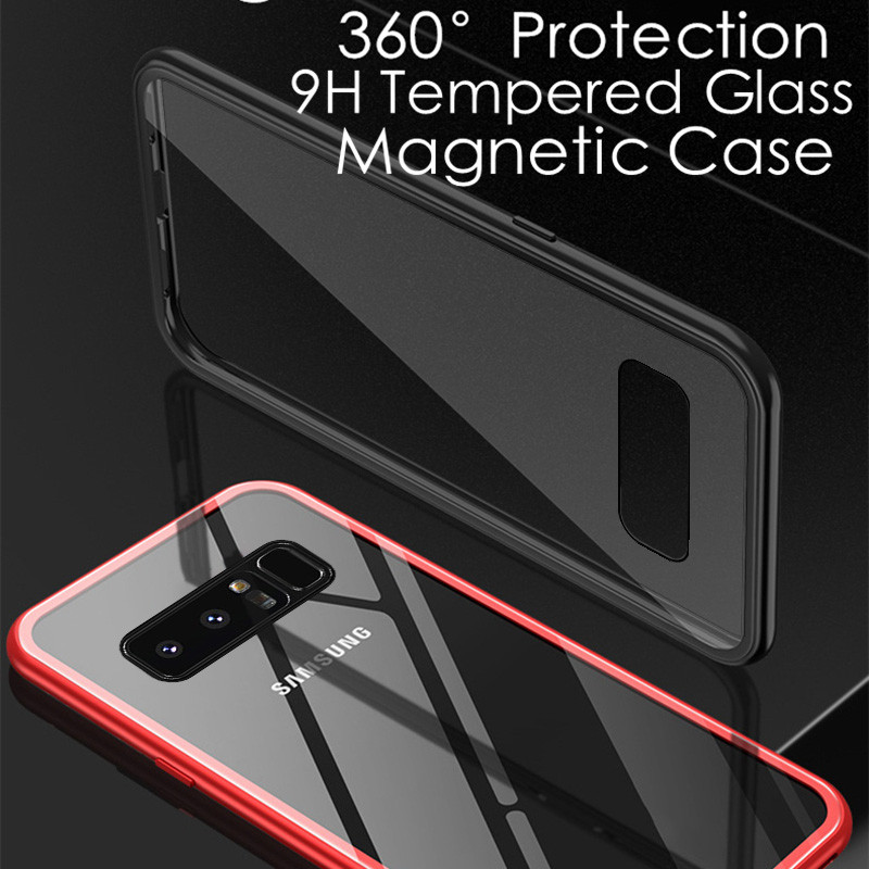 best loved c583e 2215b Vaku ® Samsung Galaxy Note 8 Electronic Auto-Fit Magnetic Wireless Edition  Aluminium Ultra-Thin CLUB Series Back Cover