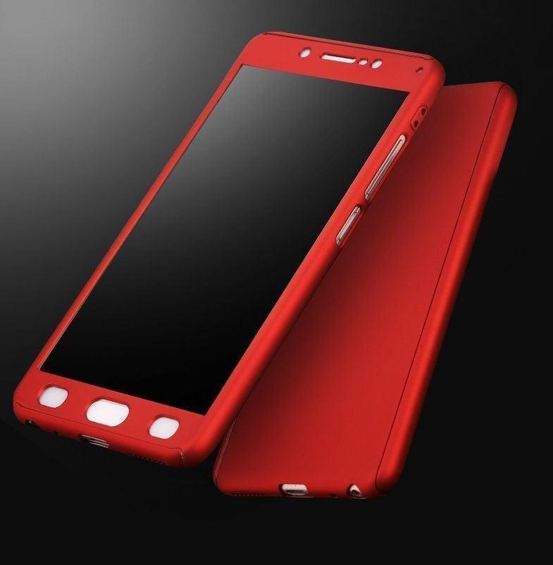 timeless design 9c5ae e8746 Vaku ® Vivo V5s 360 Full Protection Metallic Finish 3-in-1 Ultra-thin Slim  Front Case + Tempered + Back Cover