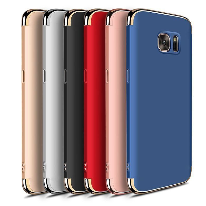 vaku samsung note 5 clint series ultra thin metal electroplating splicing pc back cover. Black Bedroom Furniture Sets. Home Design Ideas