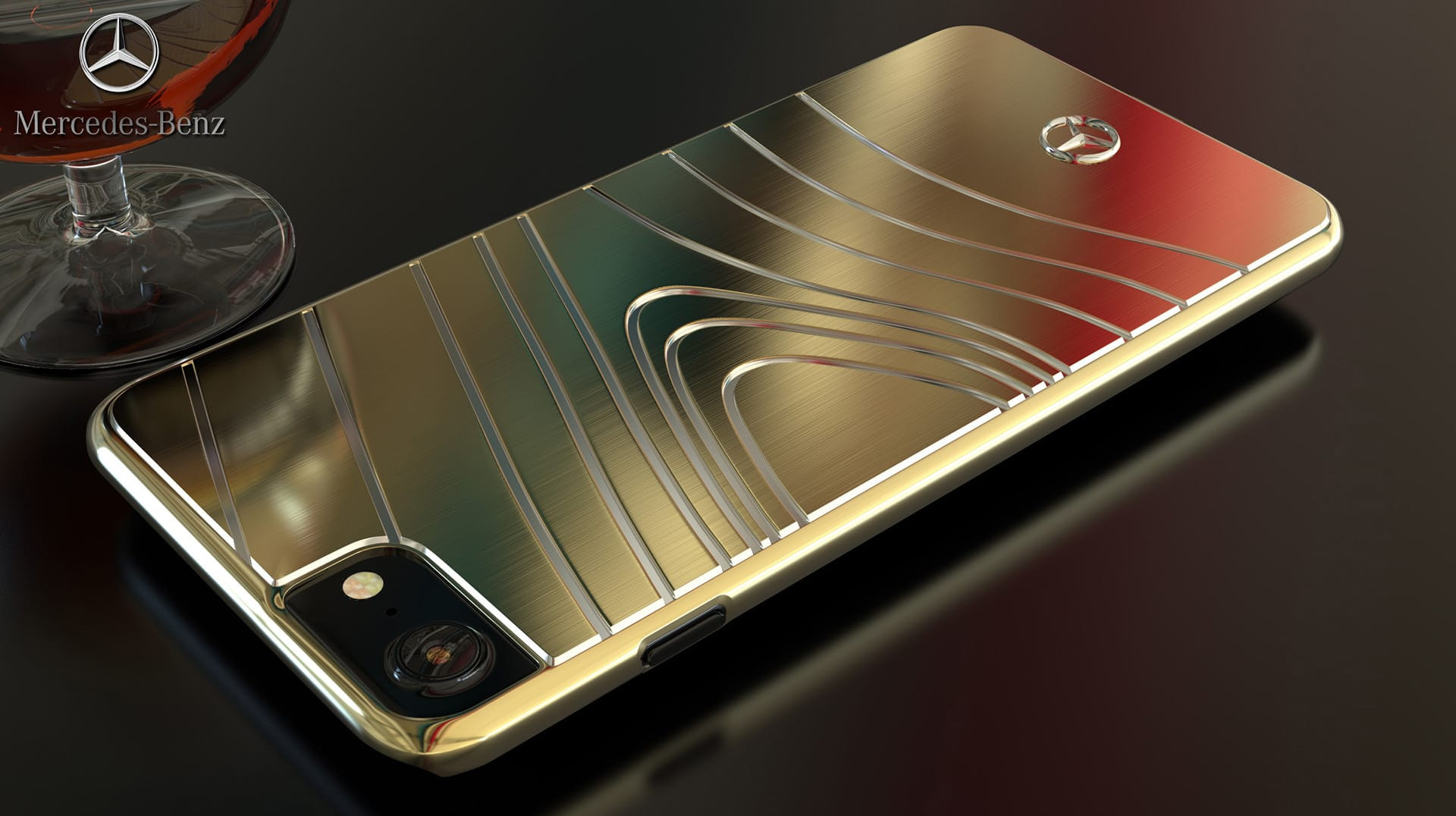 mercedes benz apple iphone 7 plus 8 plus sls amg. Black Bedroom Furniture Sets. Home Design Ideas
