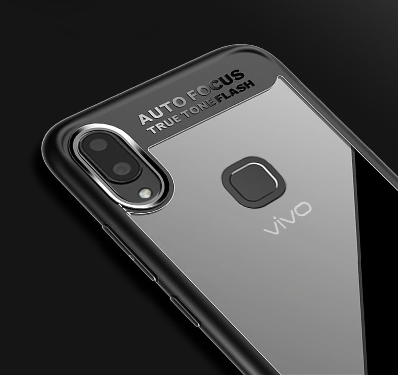 official photos c156c 8aa54 Vaku ® Vivo V9 / V9 Youth Kowloon Series Top Quality Soft Silicone 4 Frames  + Ultra-Thin Transparent Back Cover