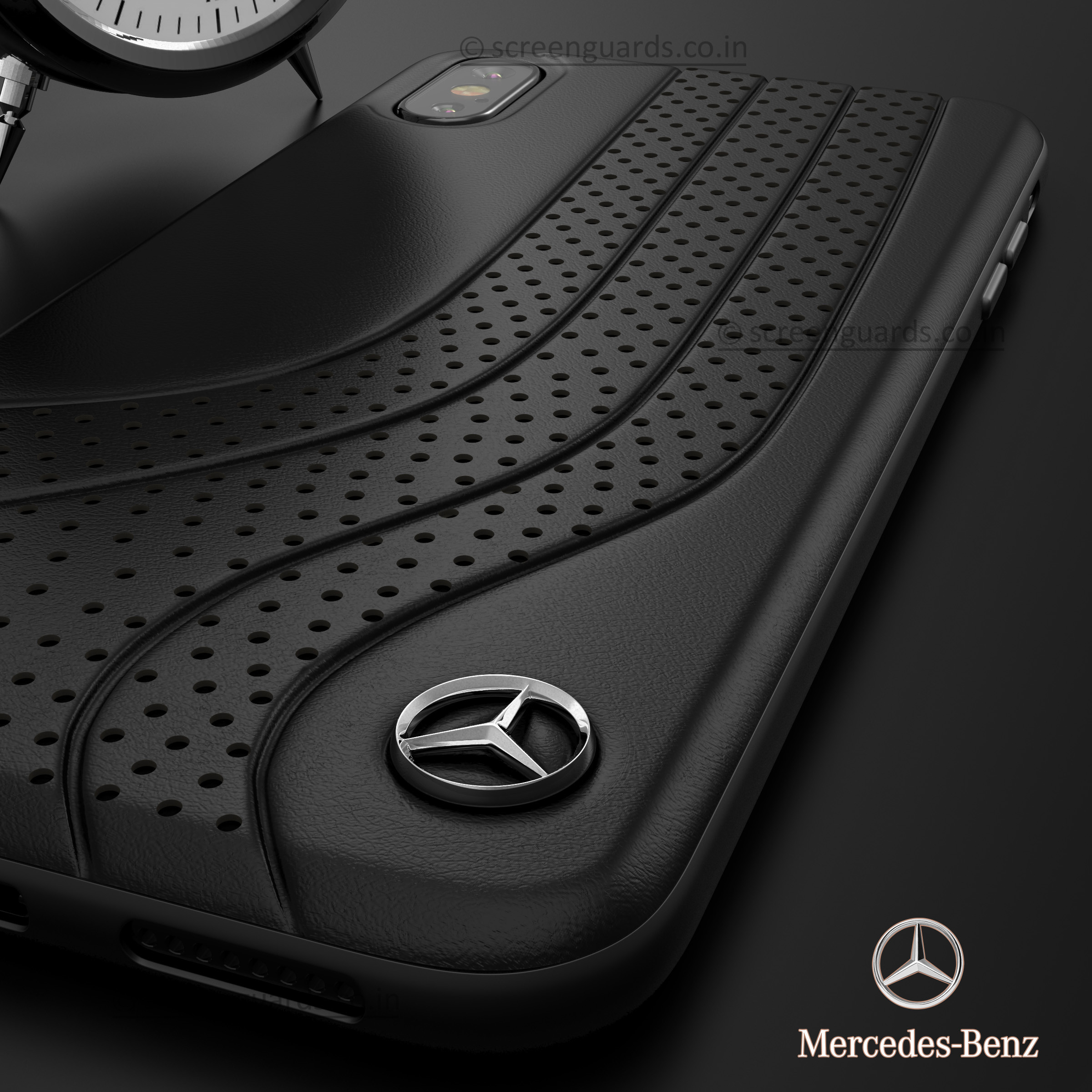 Mercedes Benz Iphone Xs Max Dotted Wave Series Luxury Edition Back