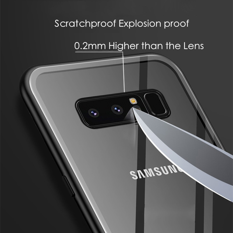 best loved 8a03b 9fc8a Vaku ® Samsung Galaxy Note 8 Electronic Auto-Fit Magnetic Wireless Edition  Aluminium Ultra-Thin CLUB Series Back Cover