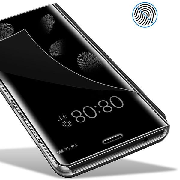 online store 5eceb 2b90d Vaku ® Samsung Galaxy Note 9 Mate Smart Awakening Mirror Folio Metal  Electroplated PC Flip Cover