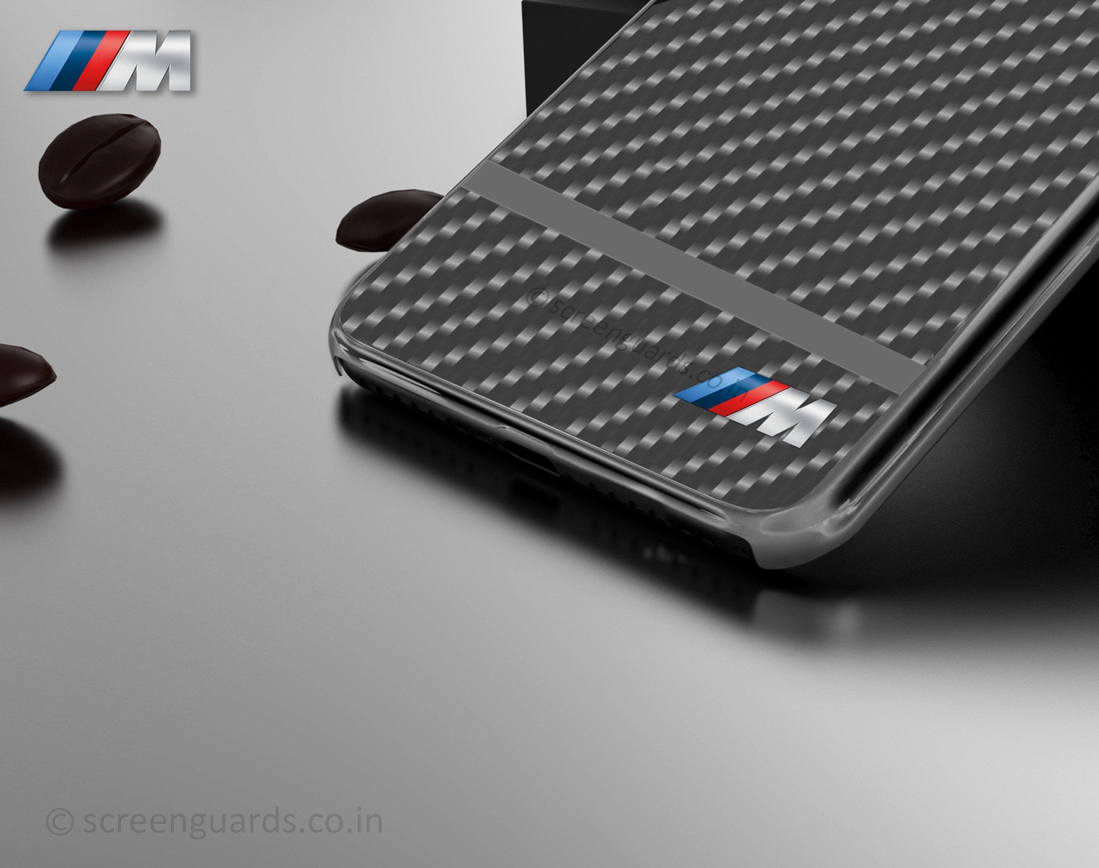 new arrival 6b0ef 62be0 BMW M ® Samsung Galaxy S8 Plus Metallic M Series Carbon Fibre + Aluminium  Hard Case Back Cover