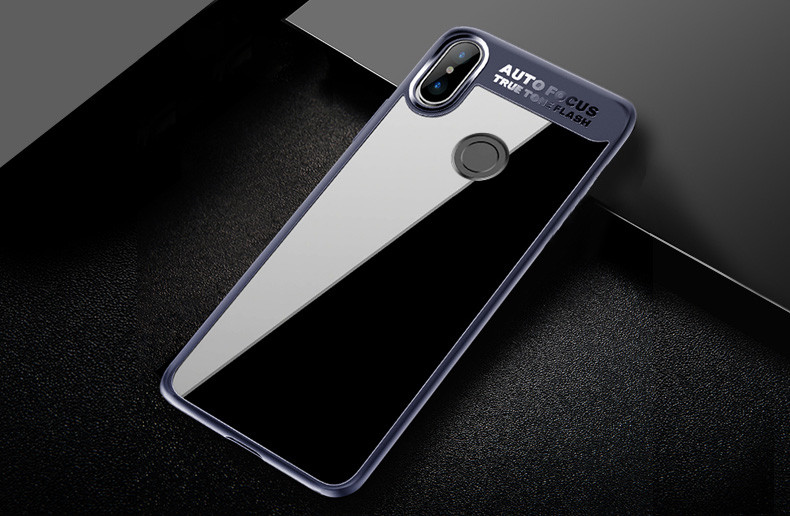 official photos ce944 28331 Vaku ® Xiaomi Redmi Note 5 Pro Kowloon Series Top Quality Soft Silicone 4  Frames + Ultra-Thin Transparent Back Cover