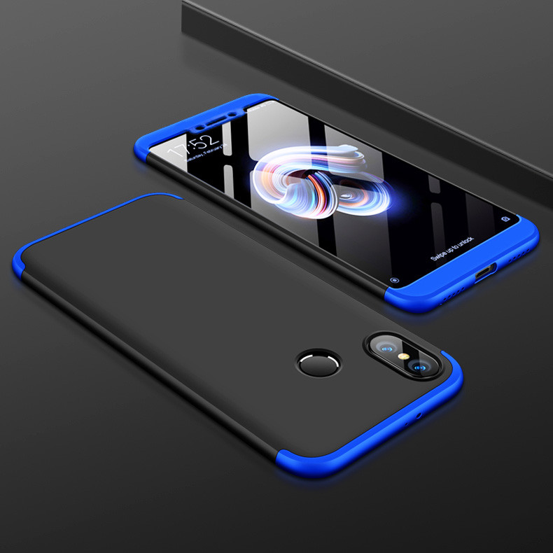 new arrival a075c 28062 GKK ® Xiaomi Redmi Y2 3-in-1 360 Series PC Case Dual-Colour Finish  Ultra-thin Slim Front Case + Back Cover