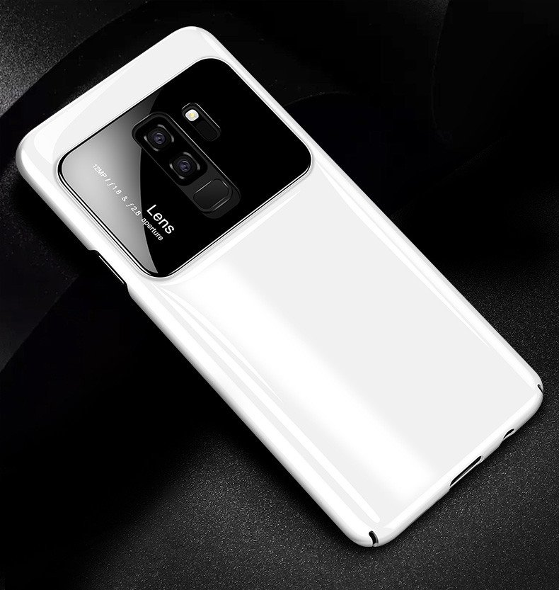 the latest 565fc 5f402 Vaku ® Samsung Galaxy S9 Plus Polarized Glass Glossy Edition PC 4 Frames +  Ultra-Thin Case Back Cover