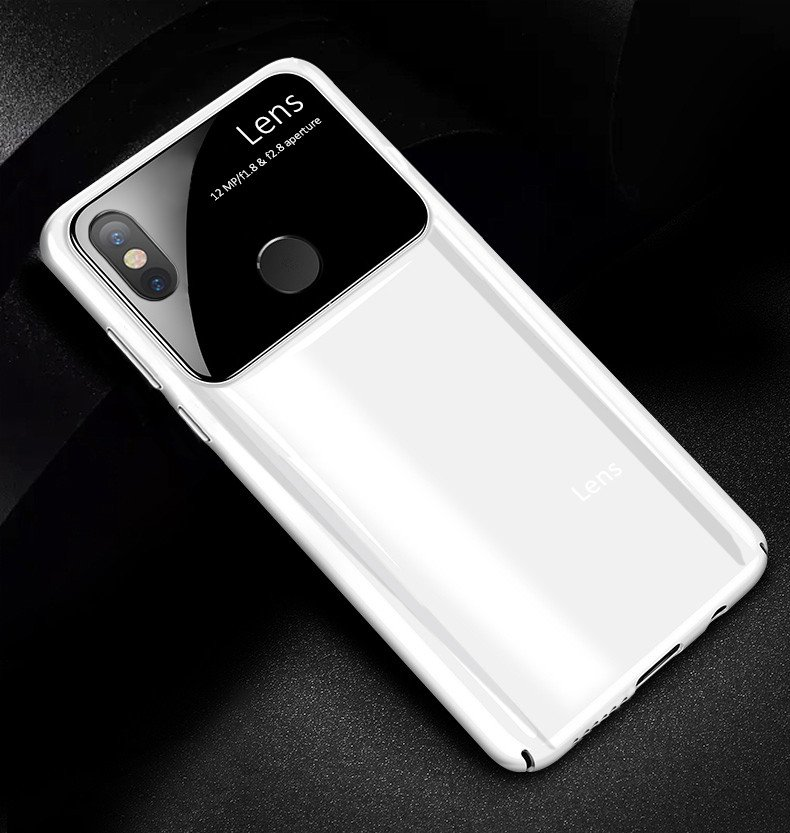 online store 3c1fb e8fb2 Vaku ® Xiaomi Redmi Note 5 Pro Polarized Glass Glossy Edition PC 4 Frames +  Ultra-Thin Case Back Cover