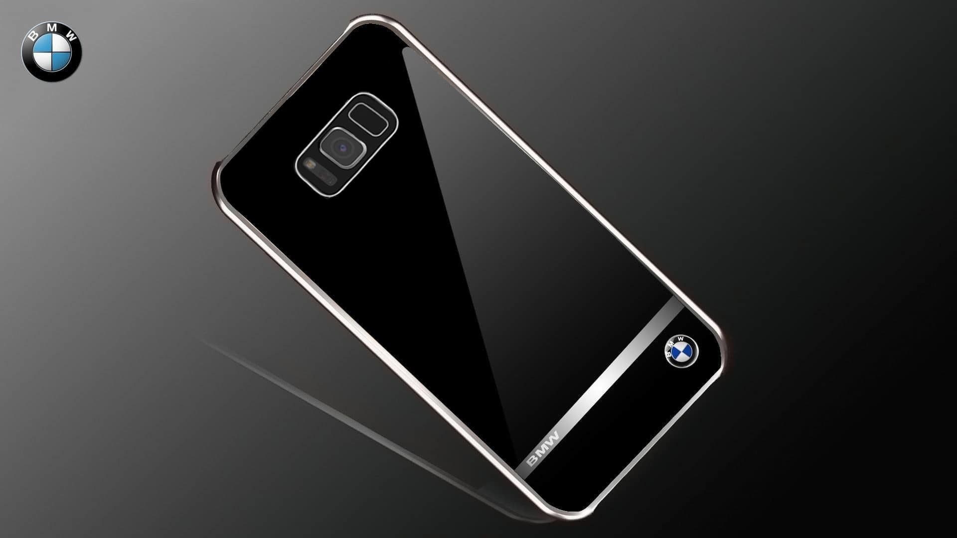 buy popular 150d6 952c7 BMW ® Samsung Galaxy S8 Mirror Signature Shine Electroplated Metal Hard  Case Back Cover