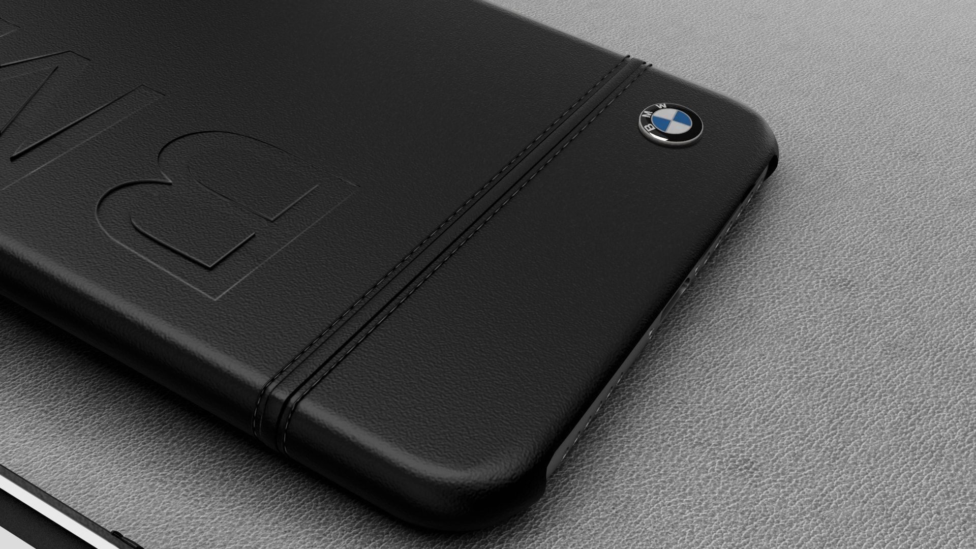 BMW ® Apple iPhone 8 Official Racing Leather Case Limited Edition Back Cover - Screen Guards India