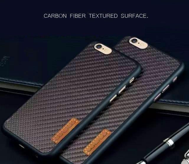 Wuw 174 Apple Iphone 6 6s K22 Carbon Fiber Finish Ultra