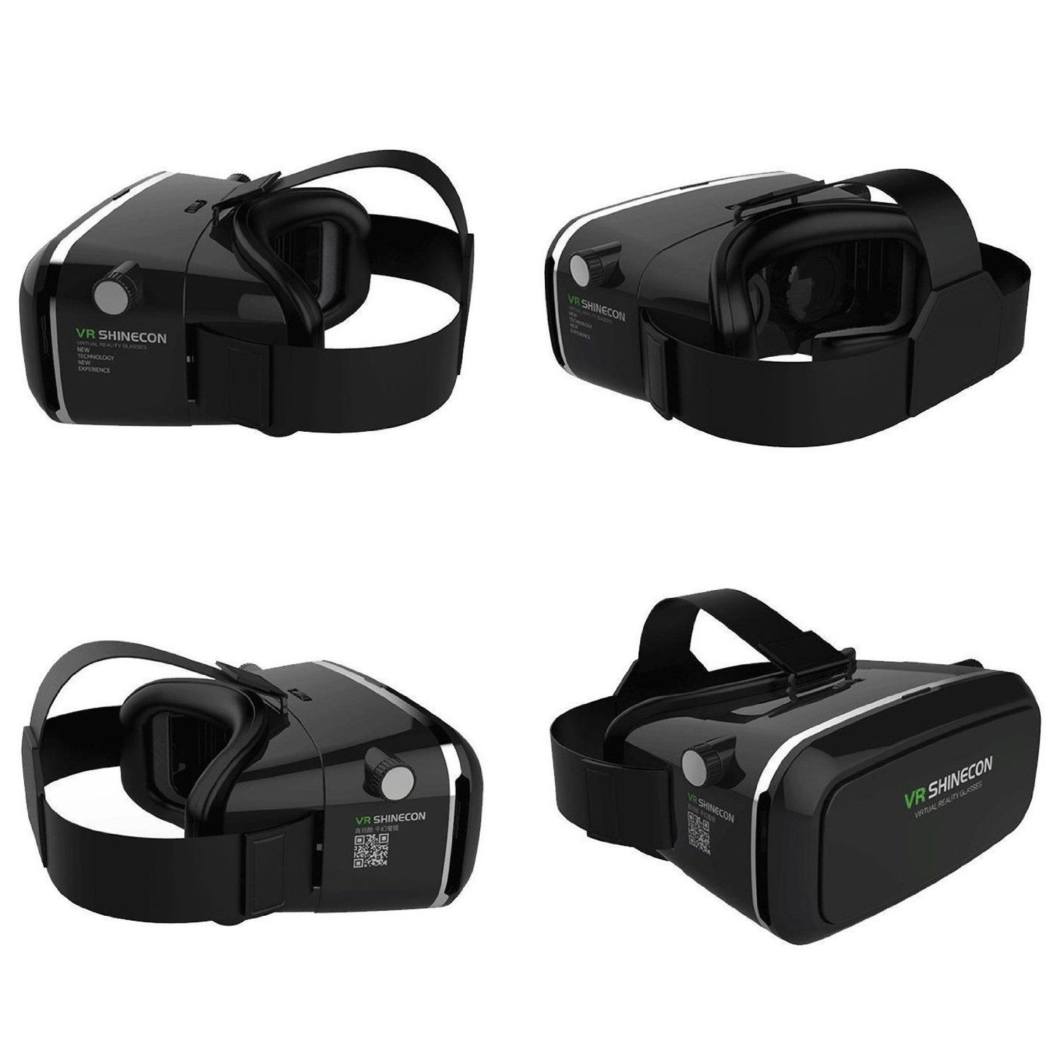 vr box shinecon version 3d virtual reality vr glasses headset smart phone 3d private theater for. Black Bedroom Furniture Sets. Home Design Ideas