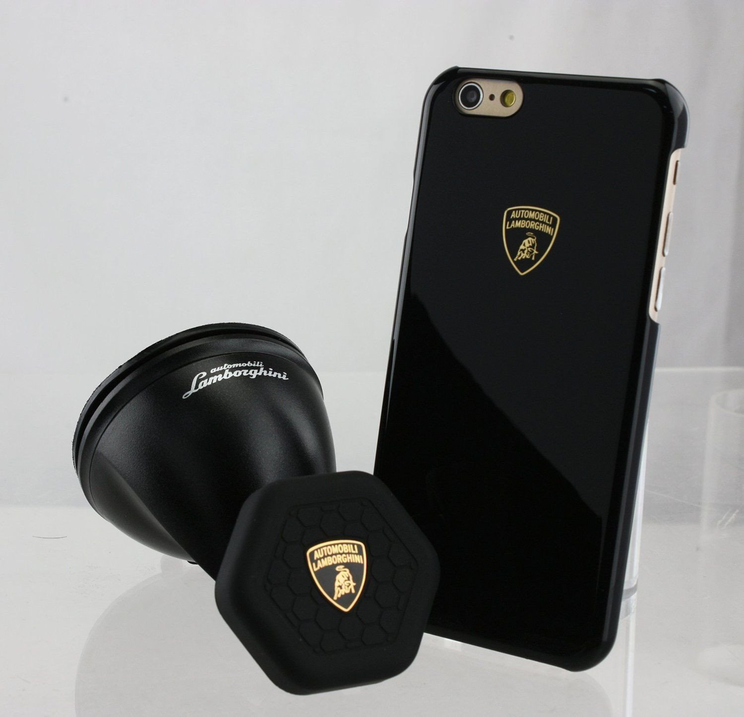 watch d2dcd d2d41 Lamborghini ® Apple iPhone 6 / 6S Inbuilt Auto-Magnet Case + Suction Car  Mount Back Cover