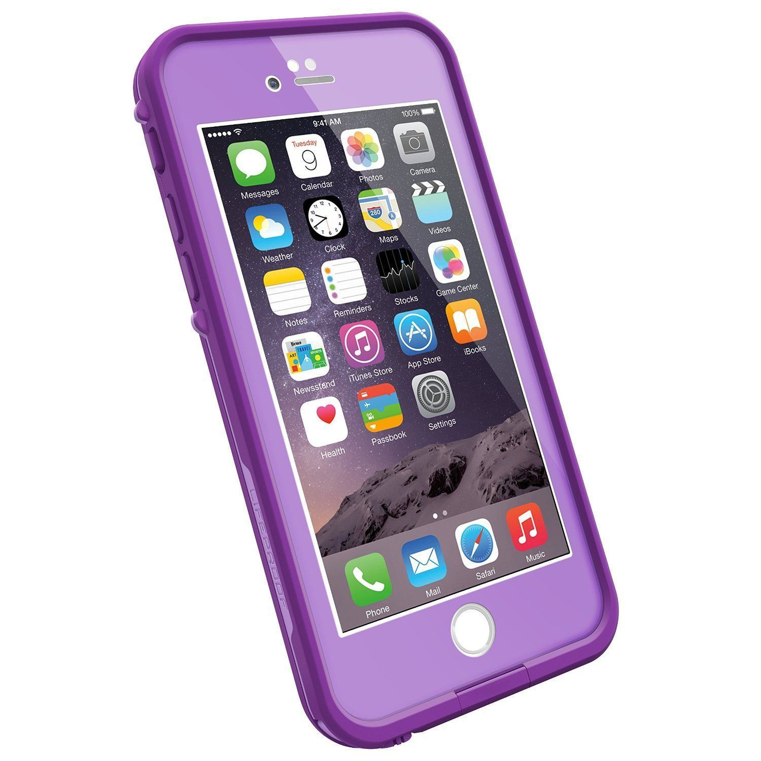 LifeProof FRE SERIES Waterproof Case for iPhone 5/5s/SE - Retail Packaging - BLACK.