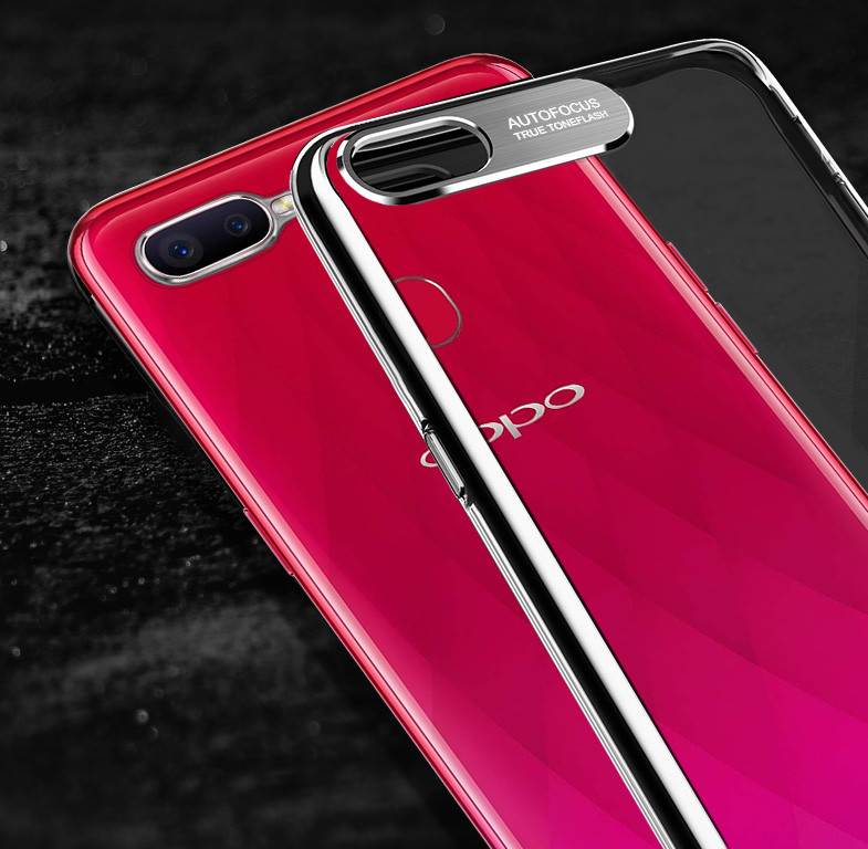 brand new 1908b e650b Vaku ® Oppo F9 / F9 Pro Metal Camera Ultra-Clear Transparent View with  Anodized Aluminium Finish Back Cover