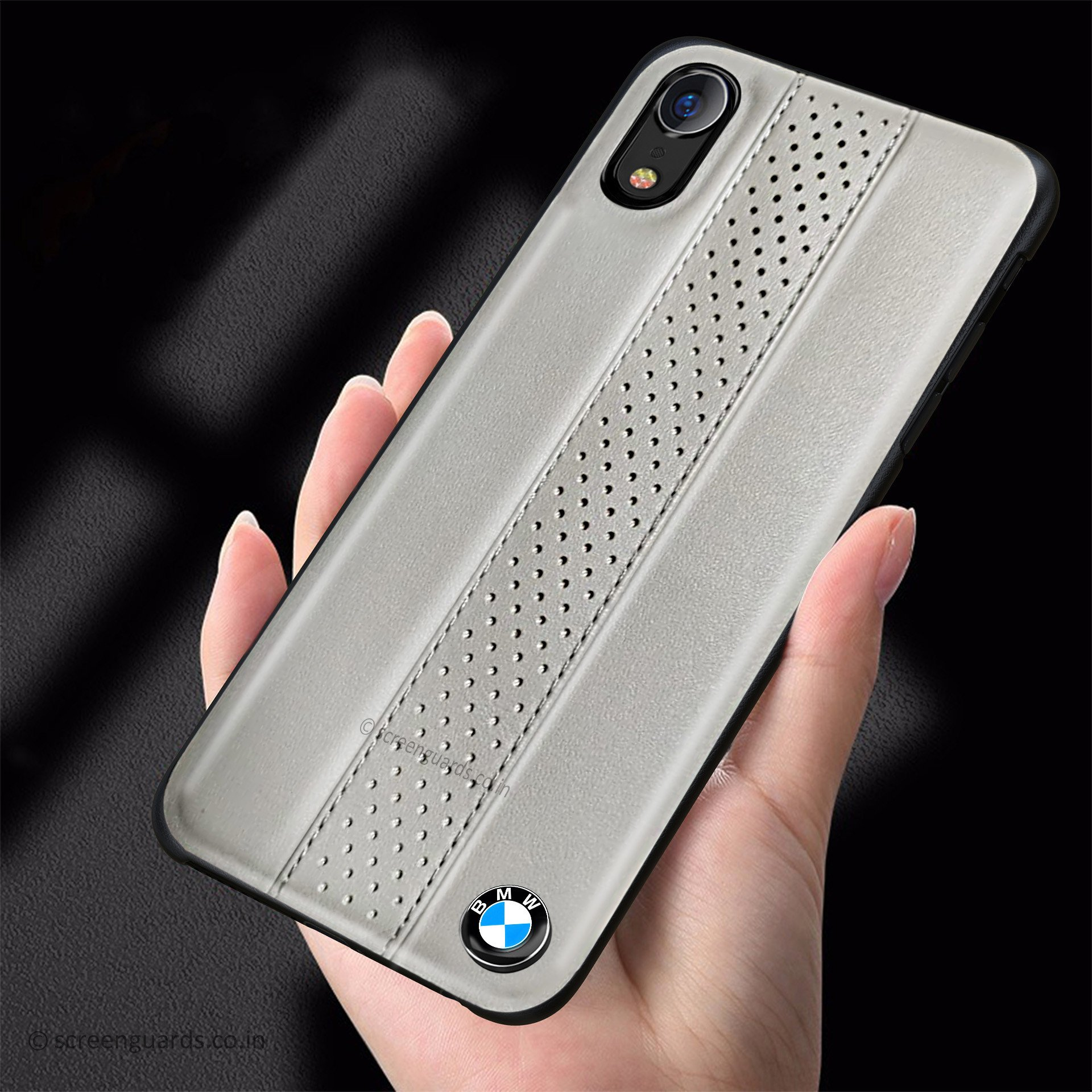 bmw iphone xr m2 competition freckled leather back case iphone xr apple mobile tablet