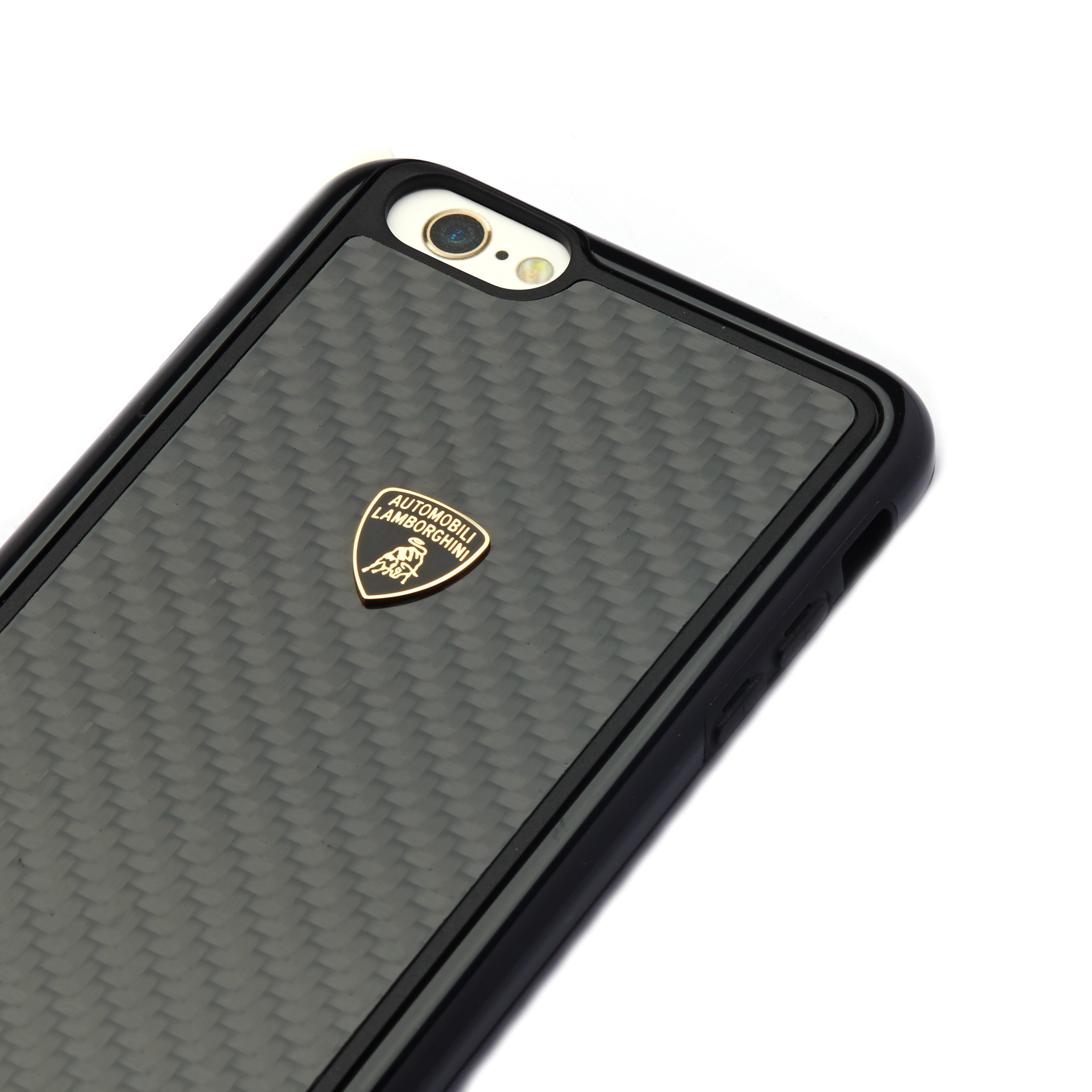 new product aedbe 42169 Lamborghini ® Apple iPhone 6 / 6S Official 3D Carbon Fiber Limited Edition  Case Back Cover