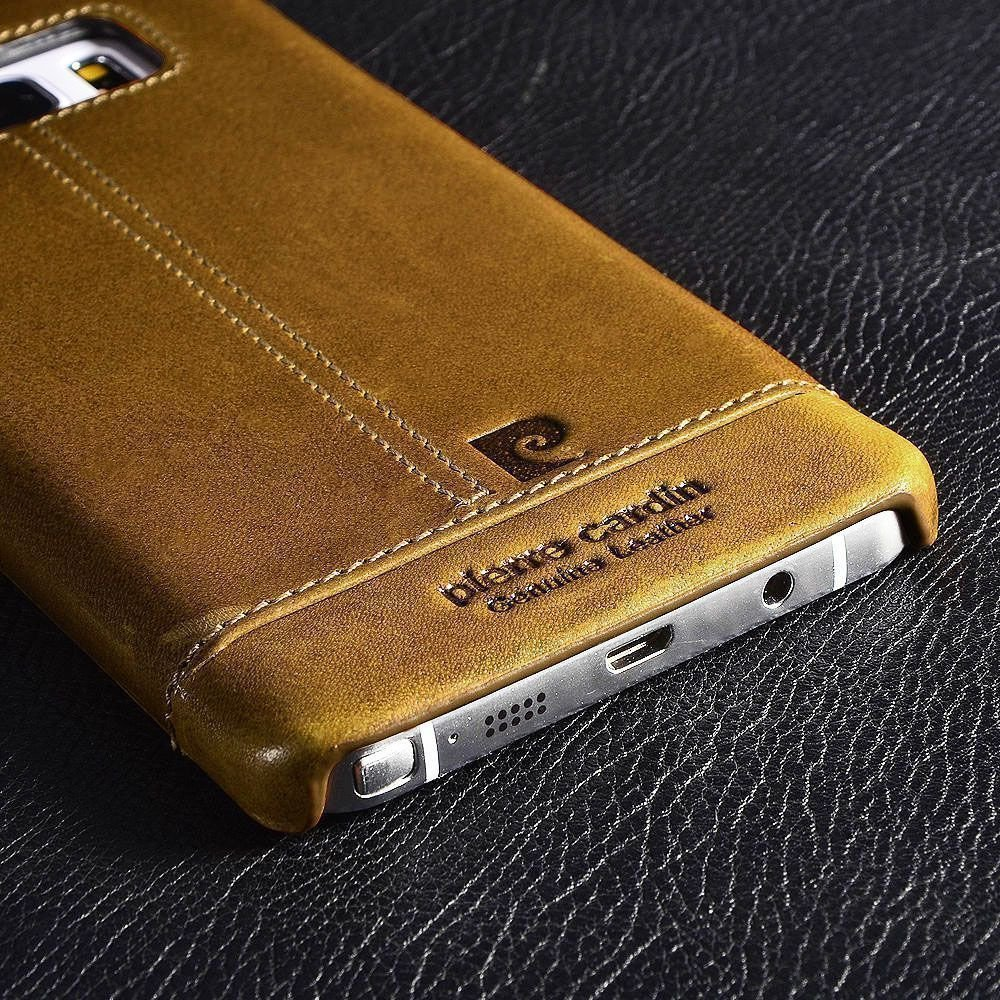 watch bbd0b 41704 Pierre Cardin ® Samsung Galaxy S7 Edge Paris Design Premium Leather Case  Back Cover