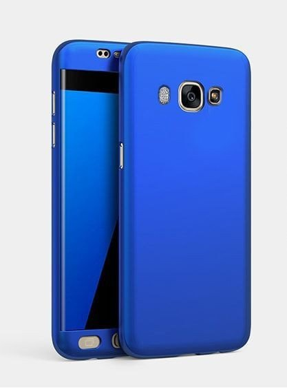 reputable site f591b 9ff0d i-Paky ® Samsung Galaxy J5 (2016) 360 Full Protection Metallic Finish  3-in-1 Ultra-thin Slim Front Case + Tempered + Back Cover