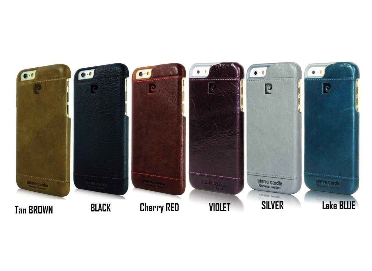 size 40 68ac4 9e612 Pierre Cardin ® Apple iPhone 5 / 5S / SE Paris Design Premium Leather Case  Back Cover