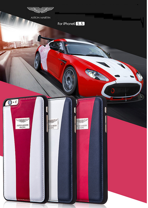 huge discount 8ff9a f5693 Aston Martin Racing ® Apple iPhone 6 Plus / 6S Plus Official Hand-Stitched  Leather Case Limited Edition Back Cover