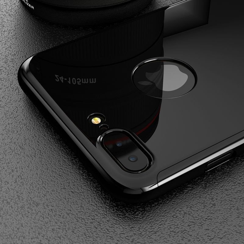 huge discount b874e fad0f Joyroom ® Apple iPhone 7 Plus 5D ETOLICA Electroplating Front Case +  Tempered Glass + Back Cover