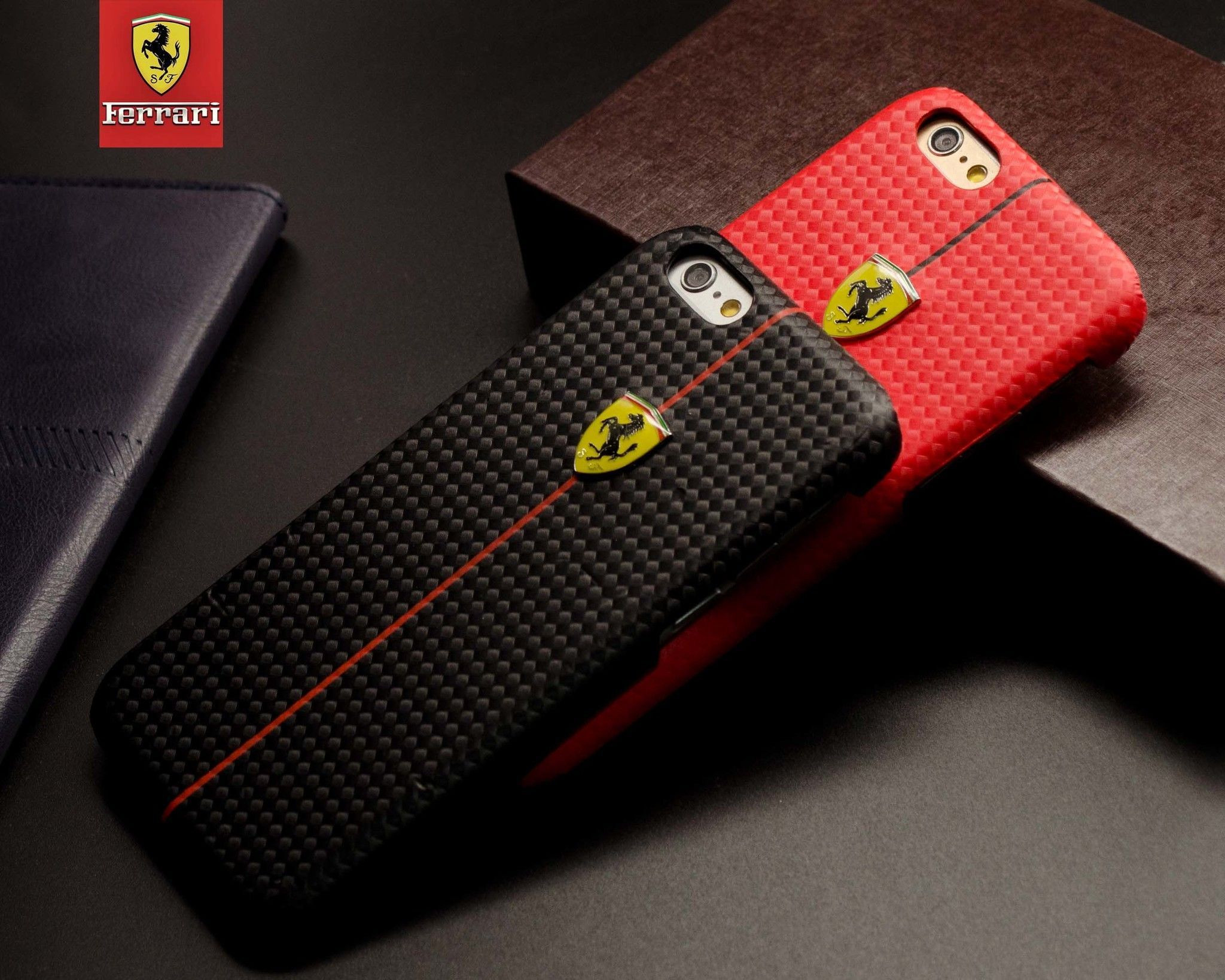 finest selection aa848 9861f Ferrari ® Apple iPhone 6 / 6S Formula One Carbon Fiber 3D Layer Case Back  Cover
