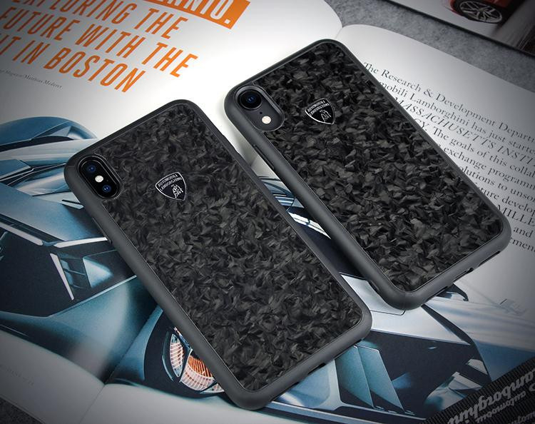 online store 3a393 2b266 Lamborghini ® Apple iPhone XS Max Official Huracan D14 Forged Carbon Fiber  Series Limited Edition Case Back Cover