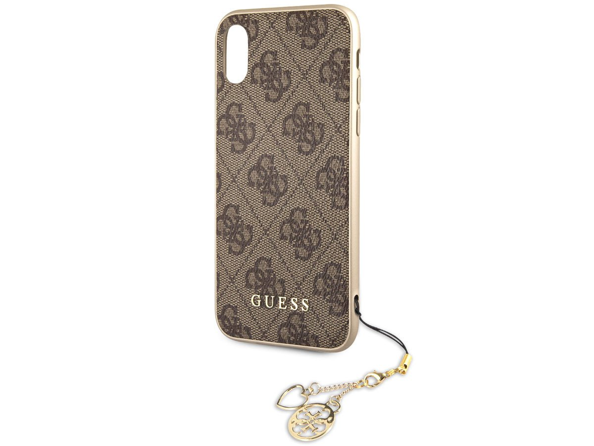 pretty nice 76b8c 30b65 GUESS ® Apple iPhone XS Max Majestic 2K Gold Electroplated Metal Logo  Monogram Case