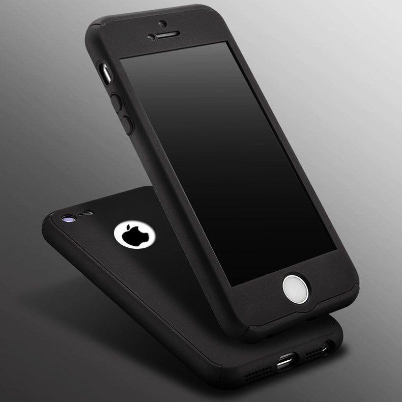 the best attitude 40242 2025e Ooxoo ® Apple iPhone 5 / 5S / SE 360 Full Protection Metallic Finish ...