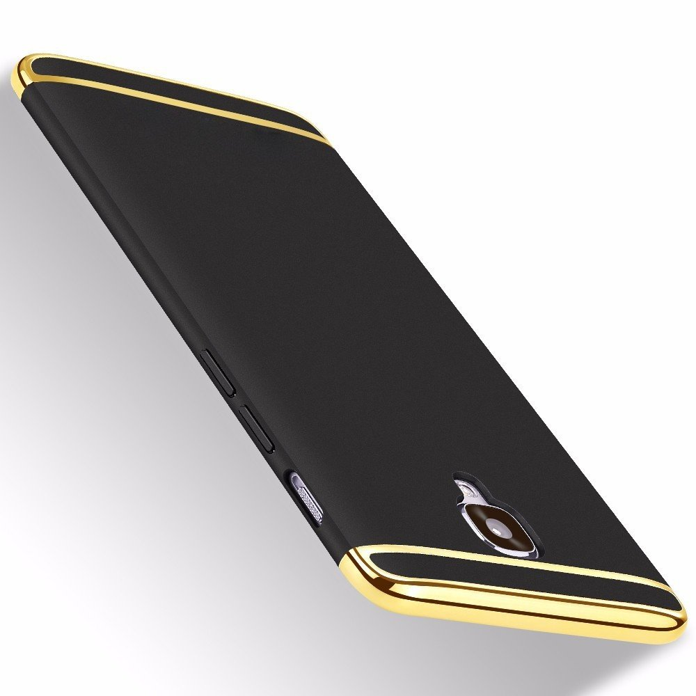 sale retailer 2eea8 fa8c0 Vaku ® OnePlus 3 / 3T Ling Series Ultra-thin Metal Electroplating Splicing  PC Back Cover